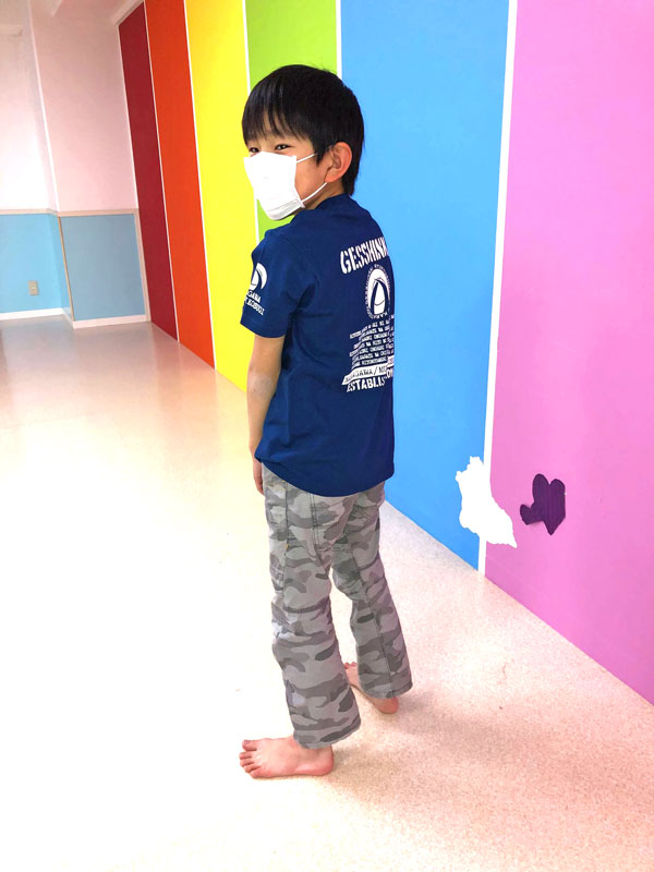 空手中川支部10周年記念Tシャツ